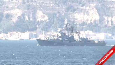 Türk Ve Rus Savaş Gemileri Çanakkale Boğazı'nda Karşılaştı