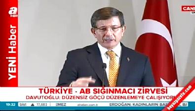 Davutoğlu: Avrupa ile vize muafiyeti Haziran'da başlayacak