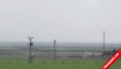 TSK, Obüslerle IŞİD Mevzilerini Vurdu