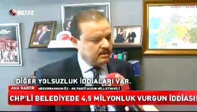 CHP'li belediyede 4.5 milyonluk vurgun iddiası
