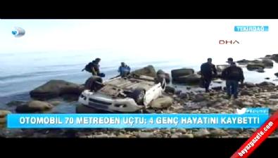 Uçuruma Düşen Araçtaki 4 Kişi Öldü