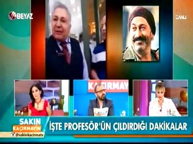 Prof. Dr. Orhan Kural, üniversitedeki Cem Yılmaz söyleşisine alınmadı