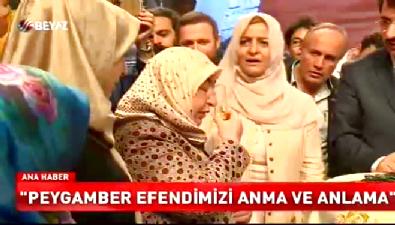Ankara'da Sakal-ı Şerif  izdihamı