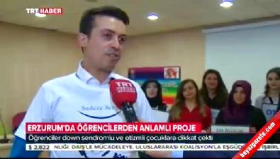 ataturk universitesi - Erzurum Atatürk Üniversitesi öğrencilerinden örnek davranış Videosu