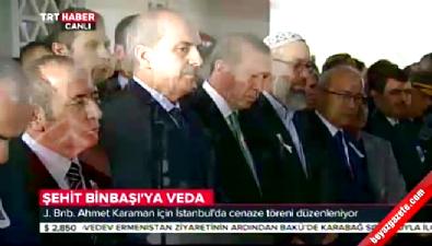 Şehit Jandarma Binbaşı İstanbul'da son yolculuğuna uğurlandı