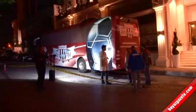 Bandırmaspor takım otobüsü İstanbul'da kurşunlandı