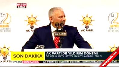 Binali Yıldırım: Yolum Erdoğan'ın yoludur