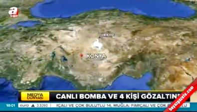 Konya'da eylem hazırlığındaki PKK'lı canlı bomba kafede yakalandı