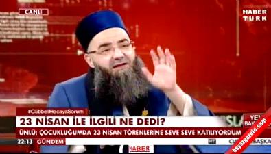 ahmet mahmut unlu - Cübbeli Ahmet Hoca Halk TV'ye fena saydırdı