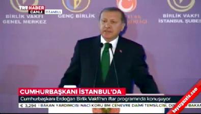Cumhurbaşkanı Erdoğan: Muhammed Ali'nin yaptığı hareket çok anlamlıydı