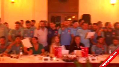 bagdat - Milli Takım 'Bağdat' Şarkısıyla Coştu