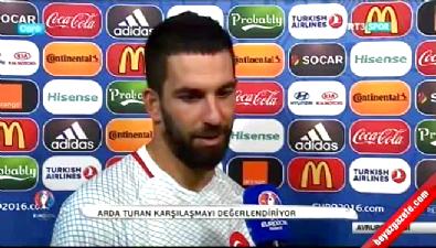 Arda Turan maç sonu açıklamalarda bulundu