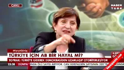 CHP'li Binnaz Toprak devleti katliam yapmakla suçladı