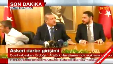 Cumhurbaşkanı Erdoğan: Bu yola kefenimizle çıktık