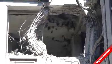 Meclis'te hasar oluşan yerlerden detaylar