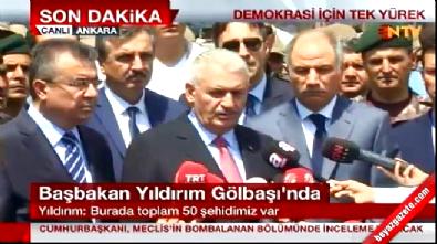 golbasi - Başbakan Yıldırım Gölbaşı Özel Harekat'ta konuştu