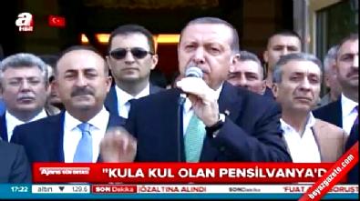 Erdoğan'dan Fethullah Gülen'a Ahmak cevabı
