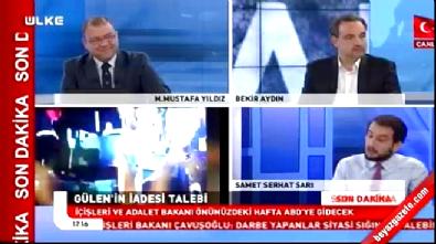 Muhabir Samet Serhat Sarı darbe gecesini anlattı