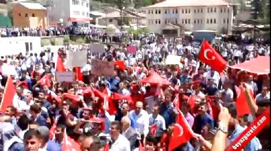 Şırnak'ta Jirki aşireti darbeye karşı sokağa indi
