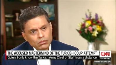cnn - Fethullah Gülen CNN International'a konuştu