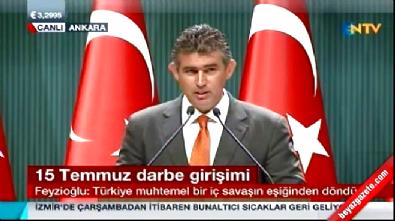 Metin Feyzioğlu, Cumhurbaşkanlığı Külliyesi'nde