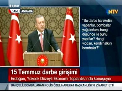 Erdoğan: Bayan bir kardeşimizin kopan başı bina çatısında bulundu