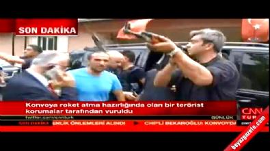 CHP lideri Kemal Kılıçdaroğlu'nun konvoyuna saldırı