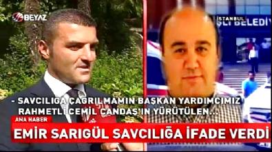 Emir Sarıgül'den 'Cemil Candaş' açıklaması