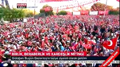 gaziantep saldirisi - Erdoğan acı haberi verdi! Kimliği tespit edilemeyen mevtalarımız var
