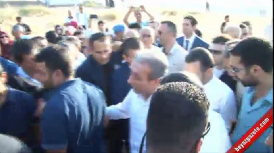Mehdi Eker Patlayıcı Yerleştirilen Aile Mezarlığını Ziyaret Etti
