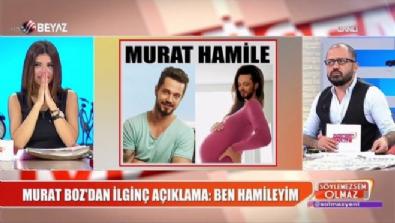 Murat Boz'dan ilginç açıklama: Ben hamileyim