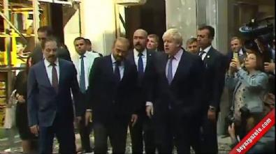 İngiliz Bakan Meclis'i ziyaret etti