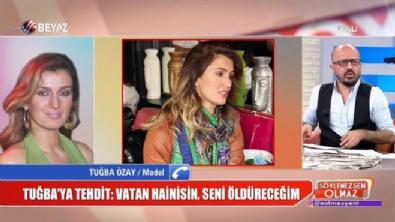 Tuğba Özay ölüm tehdidini canlı yayında anlattı