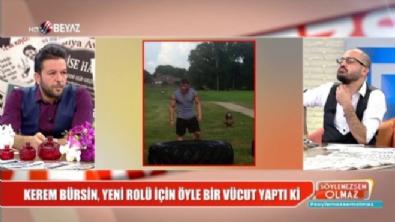 Kerem Bürsin'in anormal kasları sevgilisi Serenay Sarıkaya'yı büyüledi