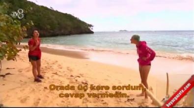 Survivor 2017 - Sabriye ile Pınar Saka arasında akıl almaz kavga!