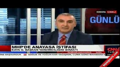 Metin Özkan'dan canlı yayında CNN Türk'e ayar