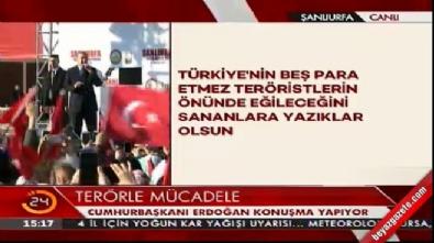 Erdoğan: Bu ülkede şehit polisimiz gibi 80 milyon kahraman var