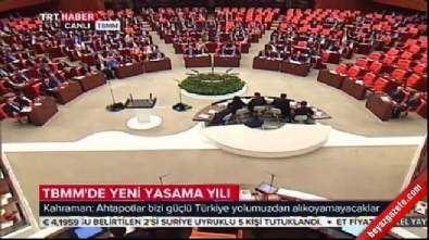 Meclis Başkanı Kahraman'dan Birlik Şiiri