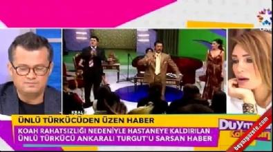 koah - Ankaralı Turgut hastaneye kaldırıldı: Akciğer kanseri mi oldu?