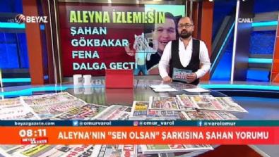 Şahan Gökbakar, Aleyna Tilki'nin şarkısıyla fena dalga geçti