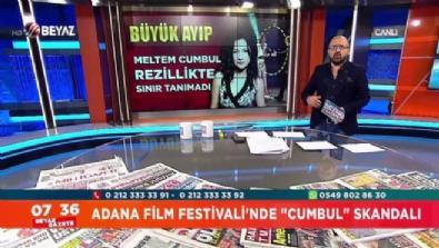 Meltem Cumbul, ünlü yönetmenin elini neden sıkmadı?