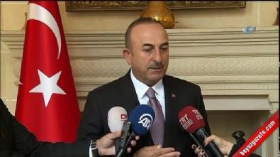 Çavuşoğlu: Bizim esas muhatabımız Bağdat'tır