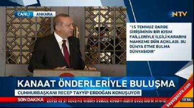Cumhurbaşkanı Erdoğan: Hava sahaları kapatılacak