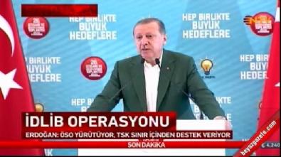 Cumhurbaşkanı Erdoğan'dan İdlib açıklaması! 'Harekat başladı.. Sonuna kadar sürecek'