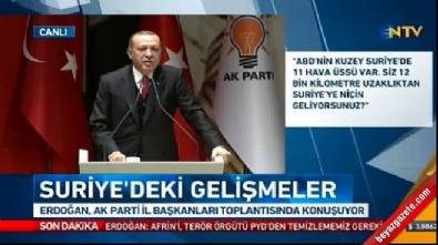 Cumhurbaşkanı Erdoğan: NATO tatbikatından çekildik