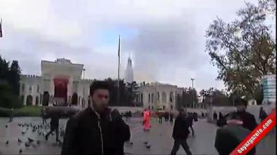 İstanbul Üniversitesi'nde korkutan yangın