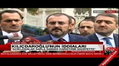AK Parti'den CHP'ye belge yanıtı
