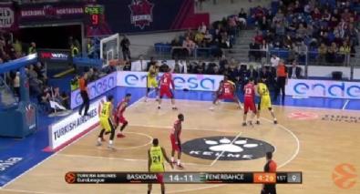 Baskonia Vitoria Gasteiz - Fenerbahce Dogus Istanbul: 69-83 Basketbol Maç Özeti