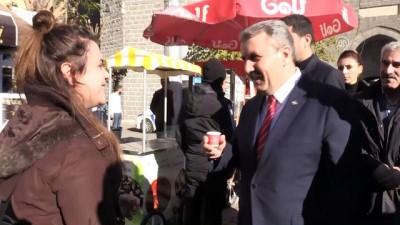 kahvehane - BBP Genel Başkanı Destici, Diyarbakır Valiliğini ziyaret etti - DİYARBAKIR