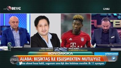 bayern munih - David Alaba'dan Beşiktaş açıklaması